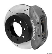 Wilwood Tx6r Rear Kit 15.50in Gray Hard Anodize W/ Lines 13-17 Ford For F250/f3