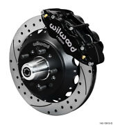 Wilwood Narrow Superlite 6r Front Big Brake Kit 12.88in Srp Drilled And Slotted
