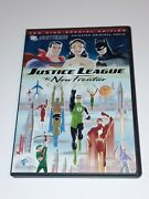 Justice League The New Frontier Dvd 2008 2-disc Set Special Edition Superman