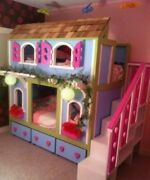 Doll House Bunk Bed With Stairand039s.