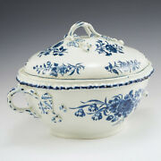 An Impressive Worcester First Period Porcelain Tureen And Cover Of Large Size