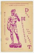 Mary Jane Superweed / Drug Manufacturing For Fun And Profit 1st Edition 1969