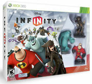 Disney Infinity Starter Pack Xbox 360 Video Game Bundle Incredibles Sulley