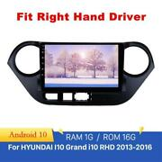 9 Inch Android 10 Car Radio Gps Player For 2013-16 Hyundai I10 Right Hand Driver