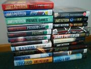 James Patterson Gift Private Summer Detective Stand Alone Mixed Book Lot Of 21