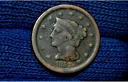 1857 Large Cent Small Date Vg Details Get 5 Off At Checkout