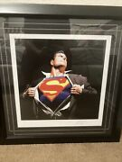 The Man Of Steel Superman Art Print By Alex Ross Sideshow Collectible 127/200