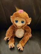Furreal Friends Cuddles My Giggly Monkey Doll By Hasbro 2012 Fur Real