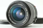 【mint+++】 Canon New Fd Nfd 24mm F/2 Wide Angle Mf Lens From Japan