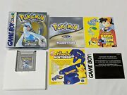 Pokemon Silver Complete In Box Minty - Nintendo Game Boy Color Gba Authentic