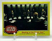 169 Meeting At The Death Star 1977 Topps Star Wars Anh Series 3 Yellow