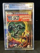Weird Western Tales 12 Graded 8.5 Ow/w Pages - 3rd Jonah Hex
