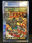 Amazing Adventures 11 1st Beast With Fur Graded 6.5