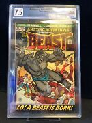 Amazing Adventures 11 1st Beast With Fur Graded 7.5