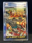 Amazing Adventures 11 1st Beast With Fur Graded 8.0
