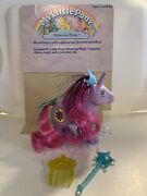 Vintage My Little Pony G1 Princess Misty Complete W/ Crown Clip Wand Comb Mlp