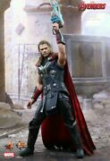 Hot Toys 1/6 Marvel Avengers Mms306 Age Of Ultron Thor Odinson Action Figure