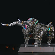 Metal 3d Diy Mechanical Bull Model Building Kits Assembly Crafts For Adults