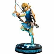 The Legend Of Zelda Breath Of The Wild Link Collector's Edition 10 Pvc Statue