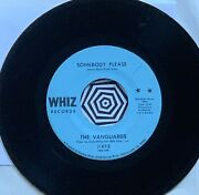 Nm Somebody Please/ I Can't Use You Girl By The Vanguards Whiz 45 Rpm Soul