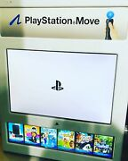 Sony Ps3 Playstation Move Demo Kiosk 2010 🌟 Collectible💯
