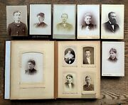 Honeoye Rochester Ny Jackson Mich Cabinet Card And Cdv 75 Photos Album Tax Stamps