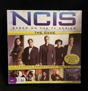 Ncis The Game Based On The Tv Series Board Game Open Box Pressman 2010