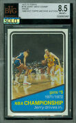 1972-73 Topps Loa 158 Jerry West Game-5 Proof Bgs 8.5 Mac Solo Finest  497
