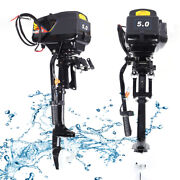 48v 5hp Electric Outboard Trolling Motor Fishing Boat Engine 18a 4000rpm