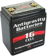Antigravity Batteries 16 Cell Lithium Ion Small Case Motorcycle Ag1601