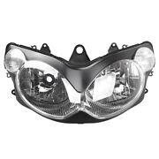 Headlight Head Lamp Bulbs Headlamp Clear Motorcycle Fit Kawasaki Zzr1200 2002-15