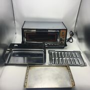 General Electric Toast R Oven Bake Toaster Oven Toast And039n Broil With Pans -tested