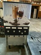 Bunn 37300.0016 Jdf-4s 4 Flavor Cold Beverage Iced Coffee Dispenser With Cold Wa