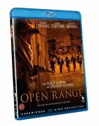 Open Range 2003 Robert Duvall Kevin Costner Blu-ray Brand New Usa Compatible