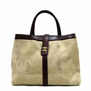 Tote Bags Are In Stock Secondhand Bag Coco Mark Rank Nanga Brown Beige