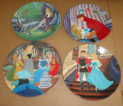 Disney's Sleeping Beauty Collector Plates By Knowles Complete Set Of 4 New