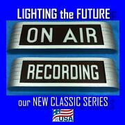 New Classic Series Rca Style On Air Recording Studio Warning Lighted Sign Light