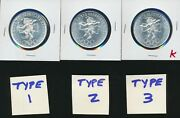 Mexico 1968 - 25 Pesos T1 And Fallon Rings T2 And T3 - All 3 Silver Choice Bu - K
