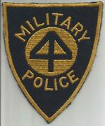 Ultra Rare Us Army 44th Infantry Division Military Police Patch Inv Jr684