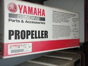 New 22 Pitch Yamaha Drag Prop 6e5-45976-10-00 Diameter Is 14 Pressed In Hub