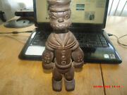 Antique Iron 9 Inch Tall Popeye Bank.very Old Style. 3 1/2 Lbs