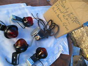 1920's-1930's Manual Turn Signal Control With 4 Turn Signal Lights Kit