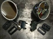 Fiat 500 600 850 Bullet Side View Mirrors Pair New