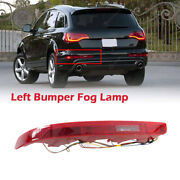 Left Rear Lower Bumper Tail Light Reflectors Lamp Red Fit For 2007-15 Audi Q7