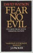 Fear No Evil One Man Deals With Terminal Illness