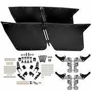 Black Bear Claw Doors Fits Rzr-4 800 2010-2014 And Rzr Xp4 900 2012-2014