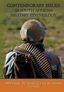 Contemporary Issues In South African Military Psychology English Paperback Boo