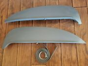 1960-63 Ford Falcon Fender Skirts New Steel Usa Product