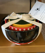 Disney Parks Mickey Mouse And Friends Bowl Set Of 3 Mouse Wares New