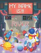My Name Is River Personalized Primary Tracing Book / Learning How To Write Thei